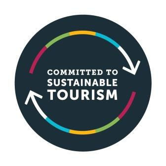 Commited to sustainable tourism logo