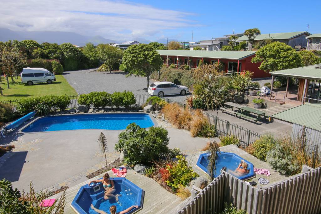 Outdoor Swimming Pool and Hot Tubs